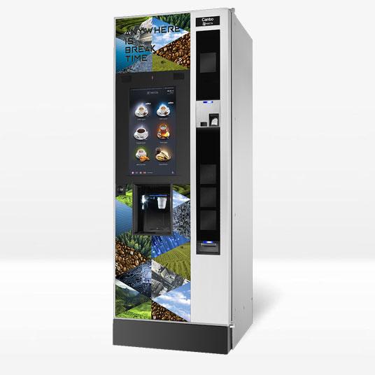 Distributore automatico Canto Touch Necta